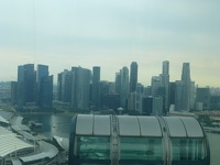 Riding the Flyer - Marina Bay Singapore