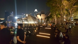 Waiting for the show - Show at Marina Bay Sands Singapore