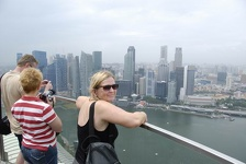 Downtown Singapore - Marina Bay Sands Hotel, Singapore
