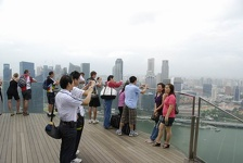 Pictures near heaven  - Marina Bay Sands Hotel, Singapore