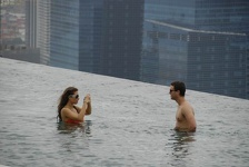 Pool picture one - Marina Bay Sands Hotel, Singapore