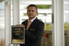 Security Officer - Marina Bay Sands Hotel, Singapore