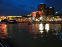 Shining lights - Clarke Quay, Singapore