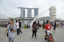 Spiting Lion - Merlion Park, Singapore
