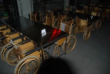 Wheelchair Restaurant - Clark Quay, Singapore