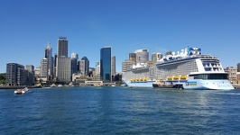 Cruise ship at Circular Quay - Sydney New South Wales Australia