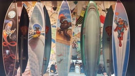 Funny Surfboards - Manly Beach Sydney New South Wales Australia