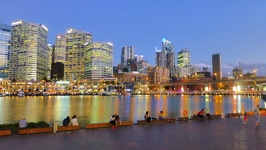 Skyline Darling Harbour - Sydney New South Wales Australia