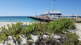 Beach and Jetty - Busselton Southwest Australia