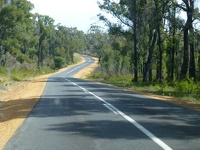 Highway Number One - near Pemberton Western Australia