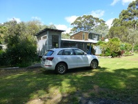 Our car and our home - Janes railway carriage Torbay Albany Southwest Australia